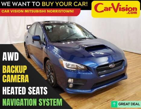 2015 Subaru WRX for sale at Car Vision Mitsubishi Norristown in Trooper PA