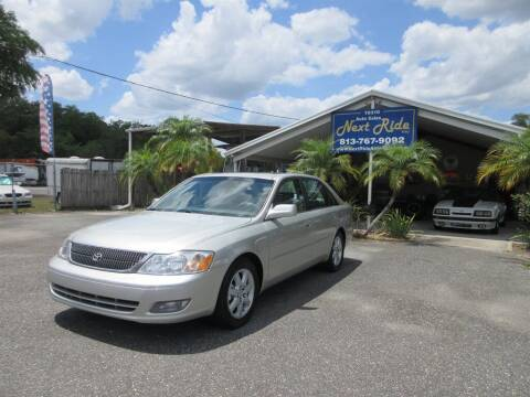2000 Toyota Avalon for sale at NEXT RIDE AUTO SALES INC in Tampa FL