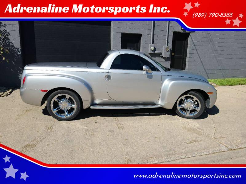 2004 Chevrolet SSR for sale at Adrenaline Motorsports Inc. in Saginaw MI