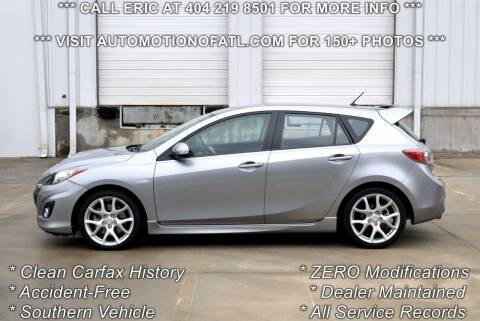 2011 Mazda MAZDASPEED3 for sale at Automotion Of Atlanta in Conyers GA