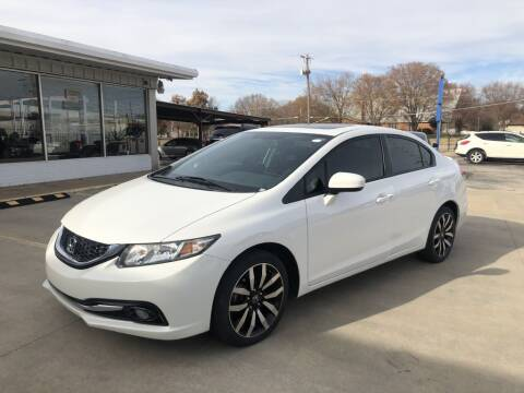 2015 Honda Civic for sale at Kansas Auto Sales in Wichita KS