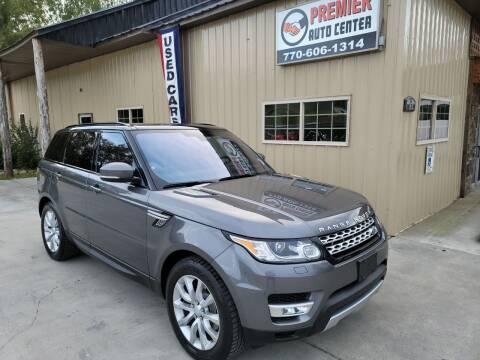 2016 Land Rover Range Rover Sport for sale at Premier Auto Center in Cartersville GA