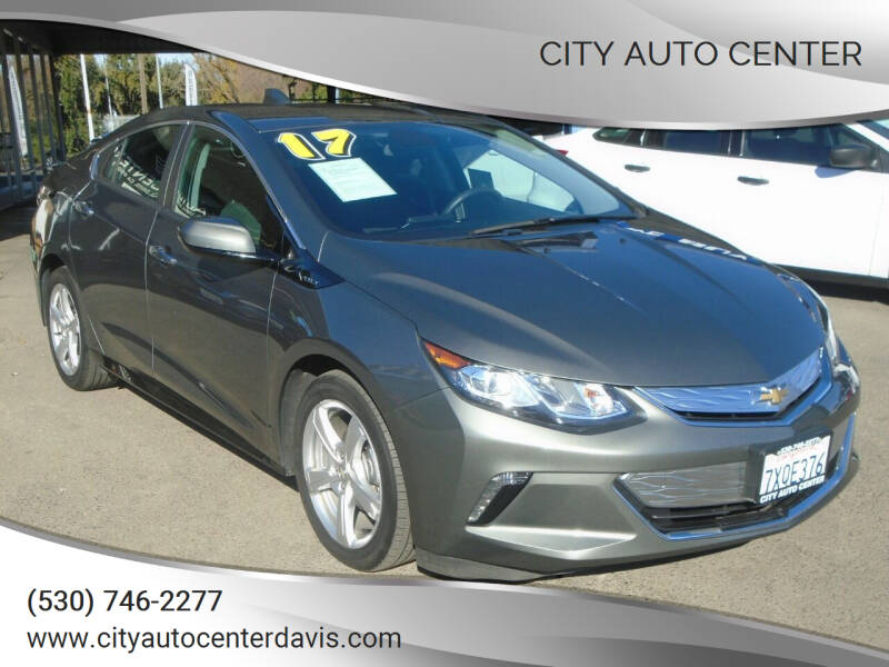 2017 Chevrolet Volt for sale at City Auto Center in Davis CA