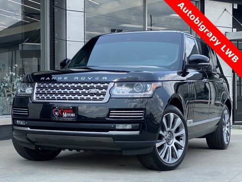 2014 Land Rover Range Rover for sale at Carmel Motors in Indianapolis IN