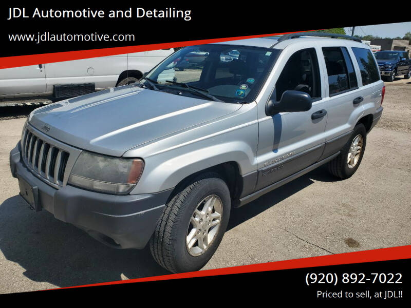 2004 Jeep Grand Cherokee for sale at JDL Automotive and Detailing in Plymouth WI
