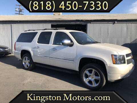 2012 Chevrolet Suburban for sale at Kingston Motors in North Hollywood CA