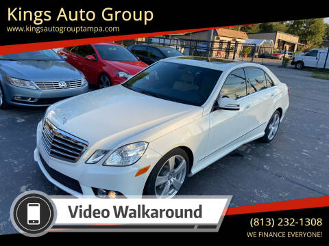 2010 Mercedes-Benz E-Class for sale at Kings Auto Group in Tampa FL