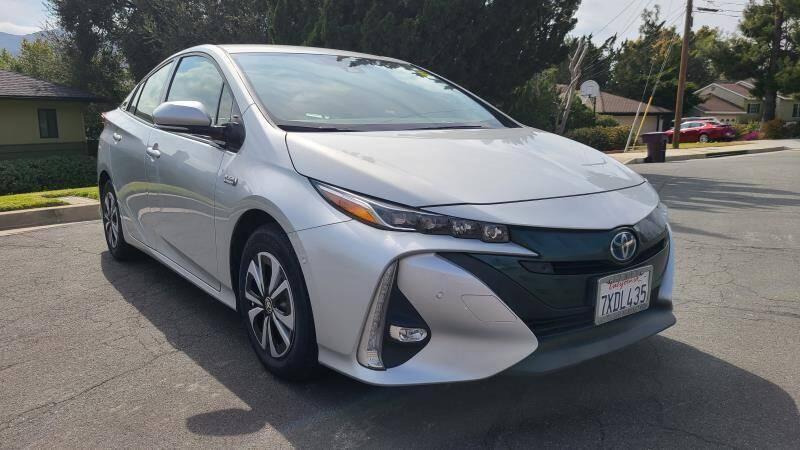 2017 Toyota Prius Prime for sale at CAR CITY SALES in La Crescenta CA