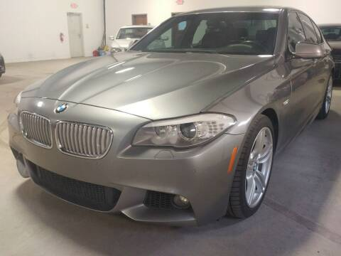 2011 BMW 5 Series for sale at MULTI GROUP AUTOMOTIVE in Doraville GA