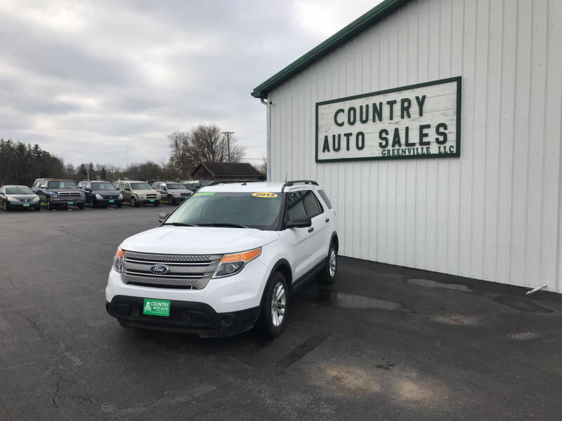 2013 Ford Explorer for sale at COUNTRY AUTO SALES LLC in Greenville OH
