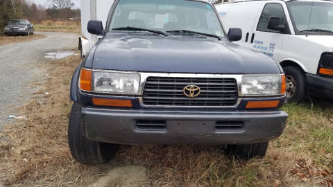 1997 Toyota Land Cruiser for sale at PRESTIGE MOTORS in Fredericksburg VA