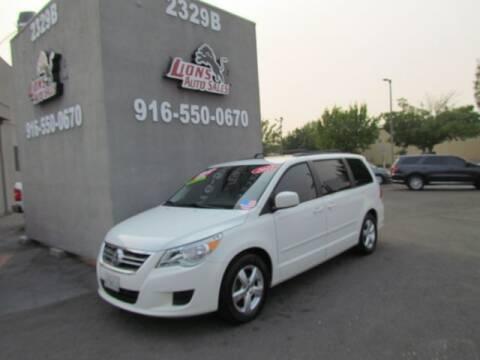 2011 Volkswagen Routan for sale at LIONS AUTO SALES in Sacramento CA