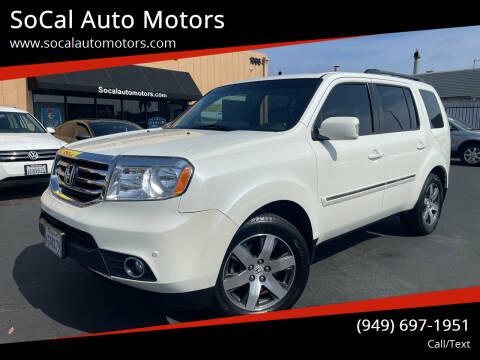 2013 Honda Pilot for sale at SoCal Auto Motors in Costa Mesa CA