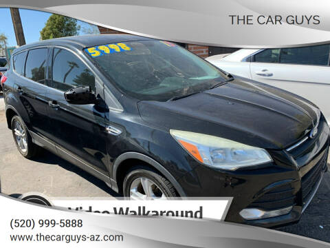 2013 Ford Escape for sale at The Car Guys in Tucson AZ