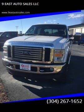 2010 Ford F-250 Super Duty for sale at 9 EAST AUTO SALES LLC in Martinsburg WV