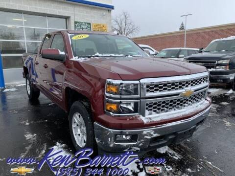 2015 Chevrolet Silverado 1500 for sale at KEN BARRETT CHEVROLET CADILLAC in Batavia NY