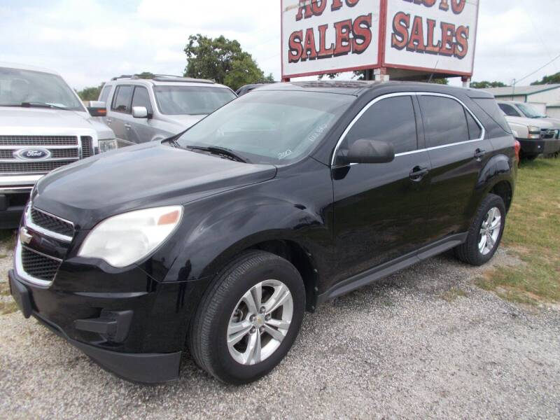 2012 Chevrolet Equinox for sale at OTTO'S AUTO SALES in Gainesville TX