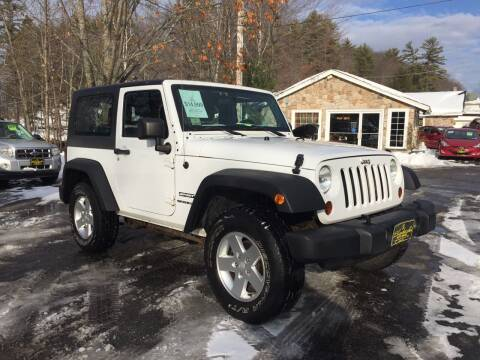 2011 Jeep Wrangler for sale at Bladecki Auto in Belmont NH