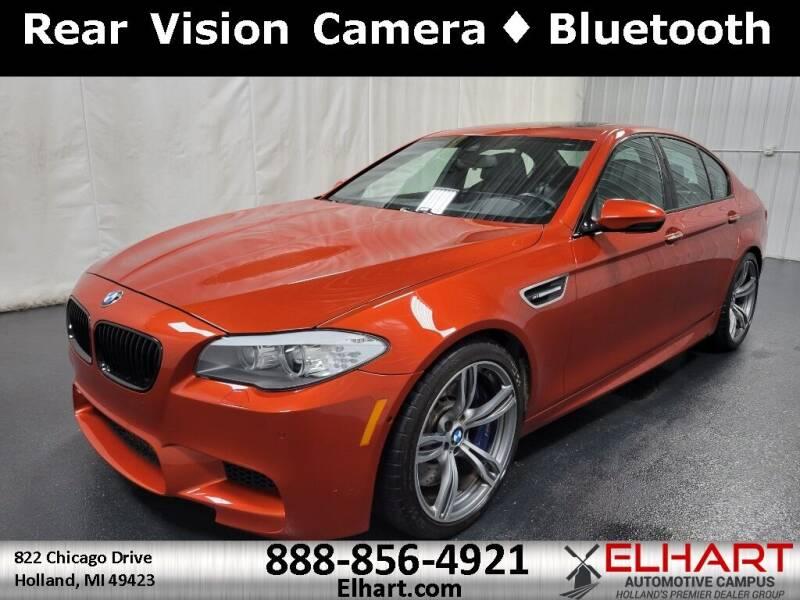 2013 BMW M5 for sale at Elhart Automotive Campus in Holland MI