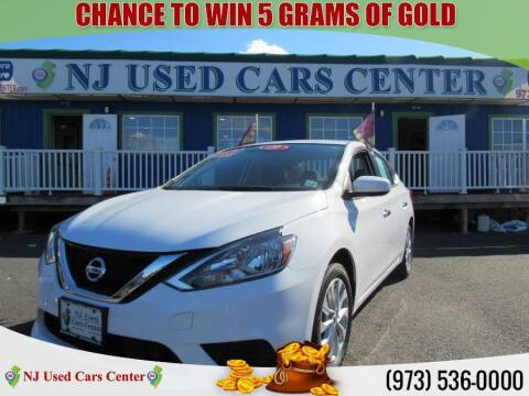 2019 Nissan Sentra for sale at New Jersey Used Cars Center in Irvington NJ