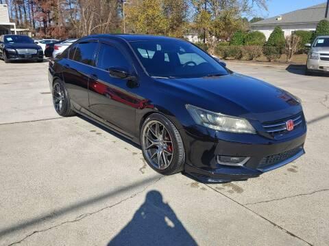 2014 Honda Accord for sale at Smithfield Auto Center LLC in Smithfield NC