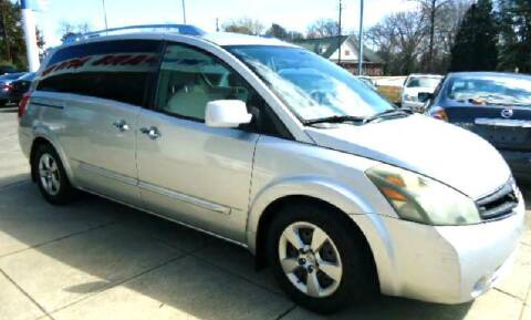 2007 Nissan Quest for sale at Pars Auto Sales Inc in Stone Mountain GA