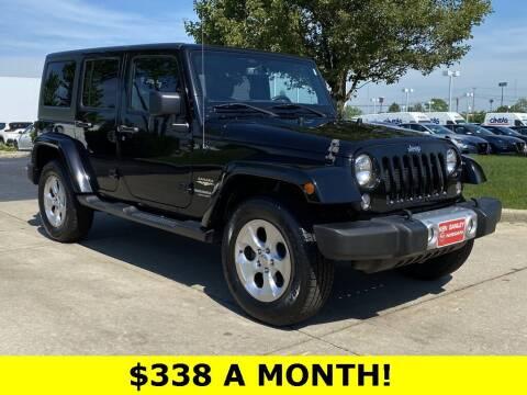 2015 Jeep Wrangler Unlimited for sale at Ken Ganley Nissan in Medina OH