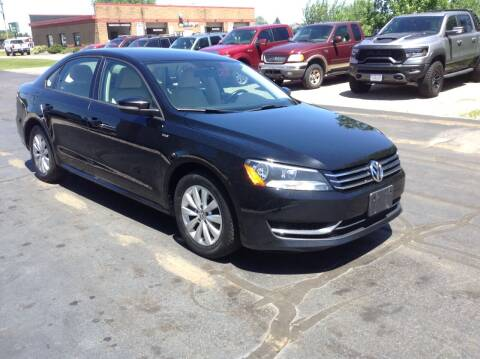 2015 Volkswagen Passat for sale at Bruns & Sons Auto in Plover WI