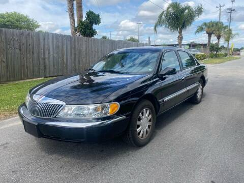 2002 Lincoln Continental for sale at Galaxy Motors Inc in Melbourne FL