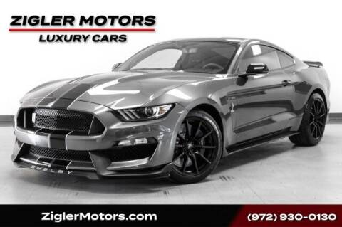2017 Ford Mustang for sale at Zigler Motors in Addison TX