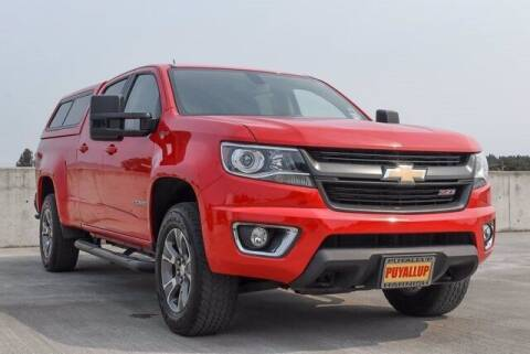 2017 Chevrolet Colorado for sale at Chevrolet Buick GMC of Puyallup in Puyallup WA