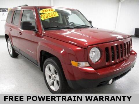 2016 Jeep Patriot for sale at Sports & Luxury Auto in Blue Springs MO