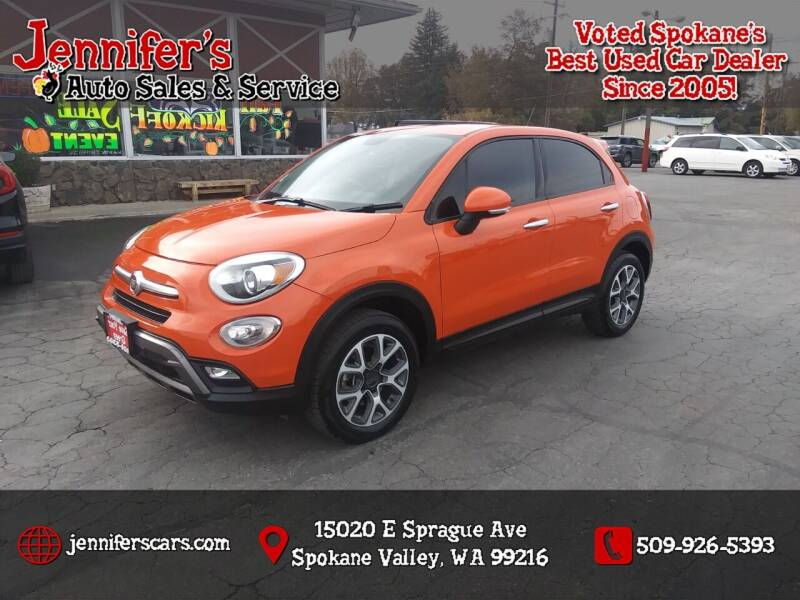 2016 FIAT 500X for sale at Jennifer's Auto Sales in Spokane Valley WA