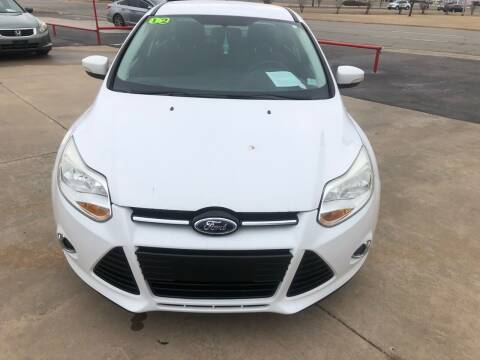 2012 Ford Focus for sale at Moore Imports Auto in Moore OK