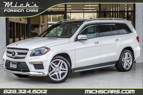 2016 Mercedes-Benz GL-Class for sale at Mich's Foreign Cars in Hickory NC