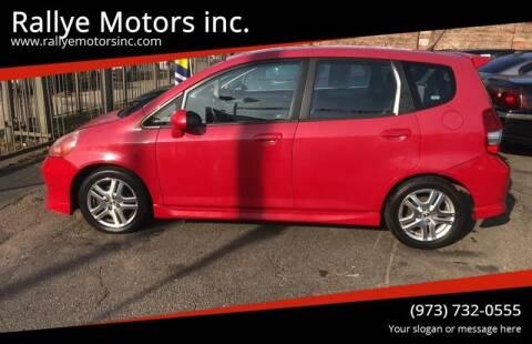 2007 Honda Fit for sale at Rallye  Motors inc. in Newark NJ