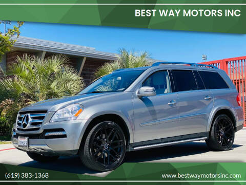 2012 Mercedes-Benz GL-Class for sale at BEST WAY MOTORS INC in San Diego CA