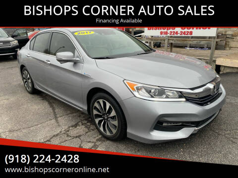 2017 Honda Accord Hybrid for sale at BISHOPS CORNER AUTO SALES in Sapulpa OK