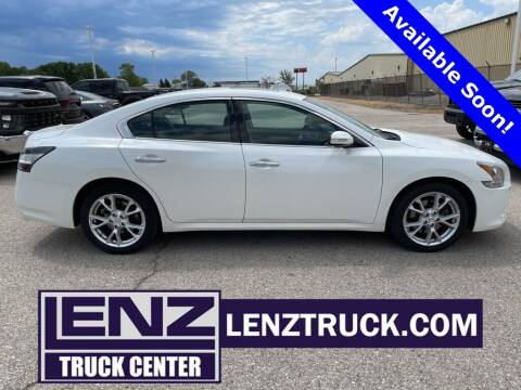 2013 Nissan Maxima for sale at LENZ TRUCK CENTER in Fond Du Lac WI