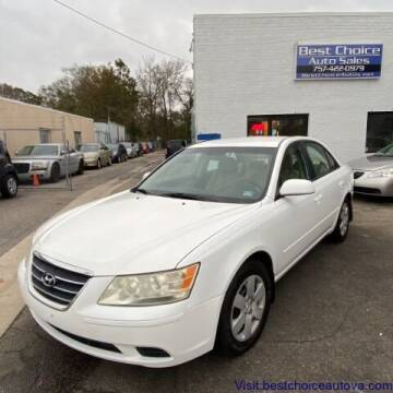 2009 Hyundai Sonata for sale at Best Choice Auto Sales in Virginia Beach VA