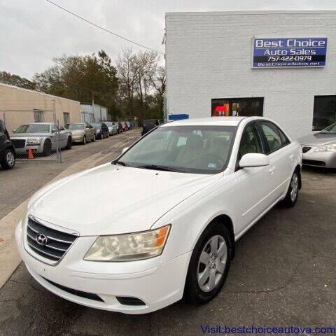 2009 Hyundai Sonata for sale at Best Choice Auto Sales in Virginia Beach VA