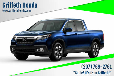 2020 Honda Ridgeline for sale at Griffeth Honda in Presque Isle ME