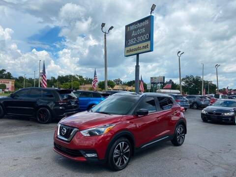 2020 Nissan Kicks for sale at Michaels Autos in Orlando FL