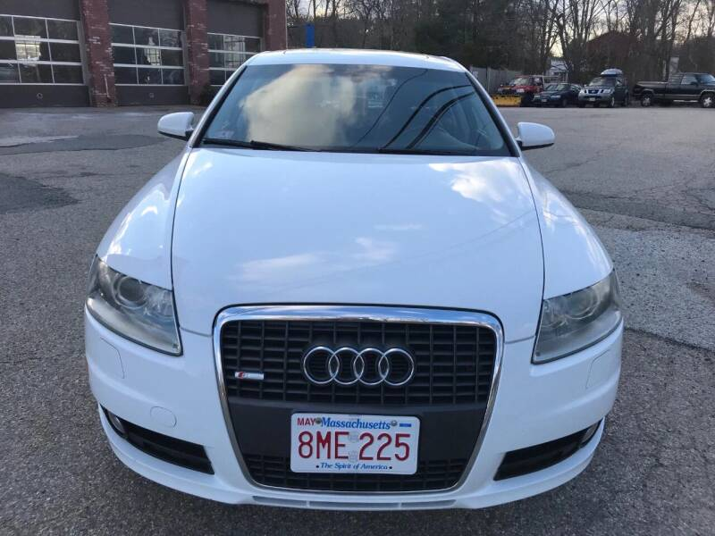 2008 Audi A6 for sale at Gaybrook Garage in Essex MA