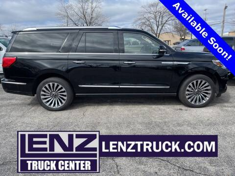 2019 Lincoln Navigator L for sale at LENZ TRUCK CENTER in Fond Du Lac WI