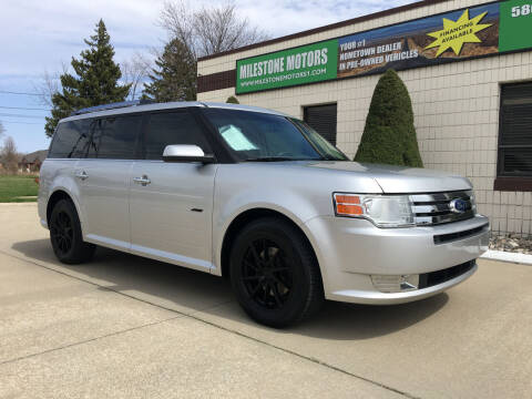 2011 Ford Flex for sale at MILESTONE MOTORS in Chesterfield MI