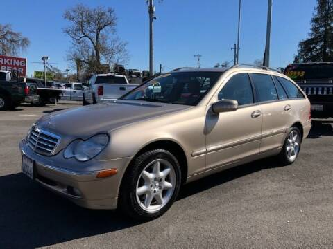 2002 Mercedes-Benz C-Class for sale at C J Auto Sales in Riverbank CA