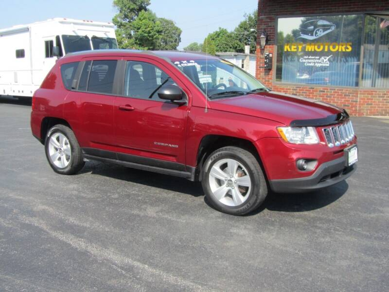 2012 Jeep Compass for sale at Key Motors in Mechanicville NY