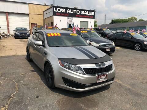 2011 Kia Optima for sale at Lo's Auto Sales in Cincinnati OH