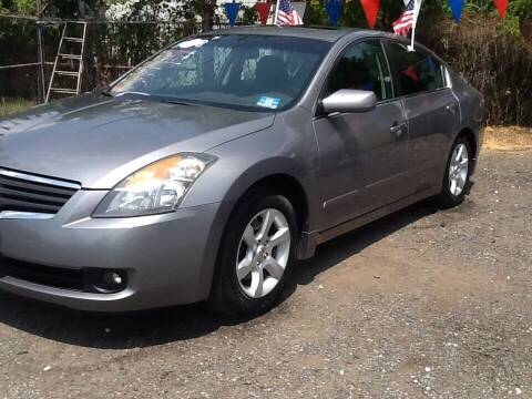 2009 Nissan Altima for sale at Lance Motors in Monroe Township NJ